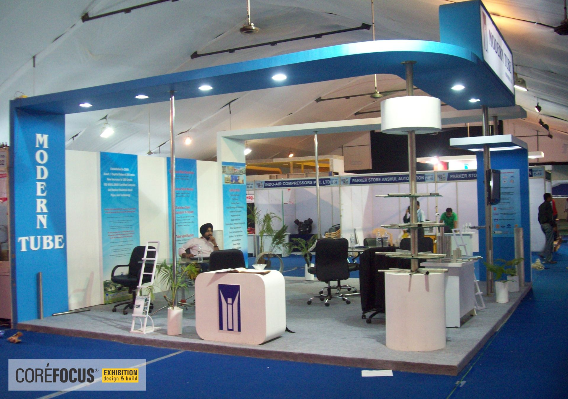 Exhibition Booth Fabrication : Exhibition india : exhibition booth stand stall design production